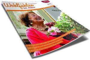 Wohlfühlen im Alter. Beispiel Corporate Zeitschrift.