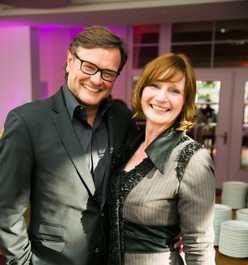 Jürgen Pfeiffer und Nicole Booss