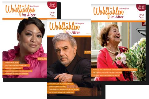 """Chefredakteurin der Zeitschrift """"WIA – Wohlfühlen im Alter"""""""