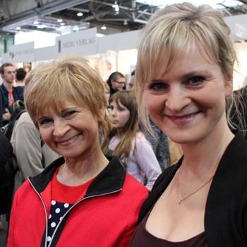 Autorin Christine Stueber-Errath mit Tochter