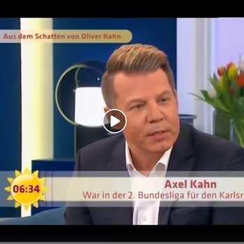 Axel Kahn beim Sat1 Frühstücksfernsehen