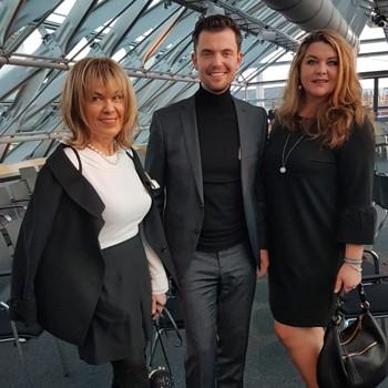 Karin Bauer, Eugen Leicht, Dina Wacker